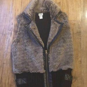 Women's Faux Fur vest